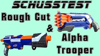 Rough Cut vs Alpha Trooper Schusstest [deutsch/german]