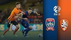 Newcastle Jets vs Brisbane Roar | A-League Round 12