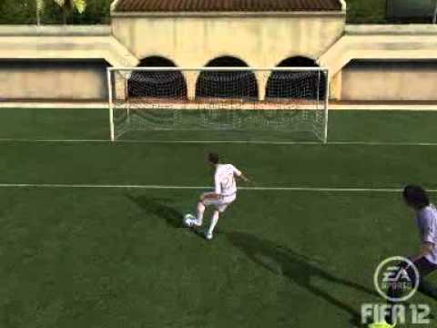Burlada hacia el Portero 2 FIFA 12