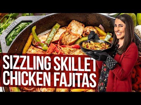 Sizzling Skillet Chicken Fajitas