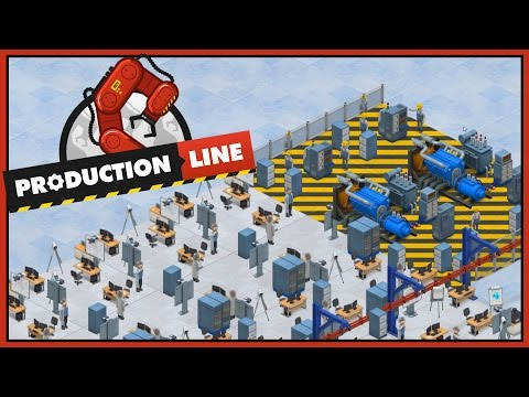 Unlimited Power - Production Line Alpha - Ep 6 [Let's Production Line Gameplay]