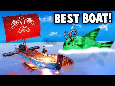 The BEST BOAT on the 7 SEAS vs FLYING FISH!?  (Make Sail Gameplay Part 1)
