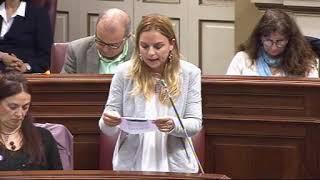 Noemí Santana (Podemos) sobre entrega de las escrituras de propiedad de viviendas públicas