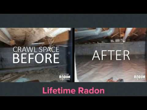 Radon Mitigation System in Crawl Space Waukesha, Wisconsin