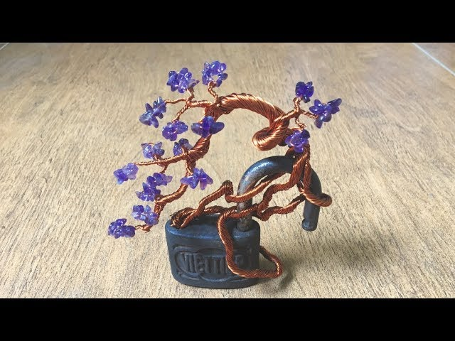 [Bonsai Handmade] Mini Bonsai Tree On The Padlocks