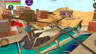 grand Vegas Crime (army base in private helicopter ) - Mission complete || Android Gameplay - HD