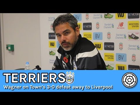 Terriers | David Wagner after the 3-0 defeat to Liverpool