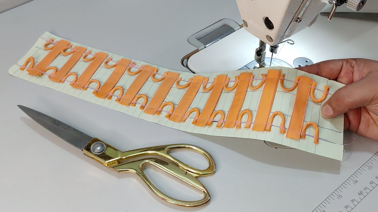 Dori और Gota Patti से बनाएं Trouser/ Palazzo का बिलकुल नया Design/ Latest Trouser Design 2021