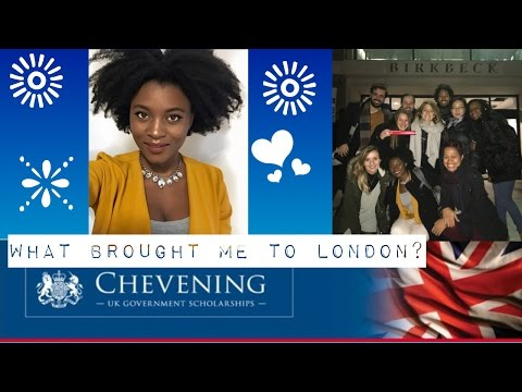 What brought me to London? | Story Time | Chevening Scholar