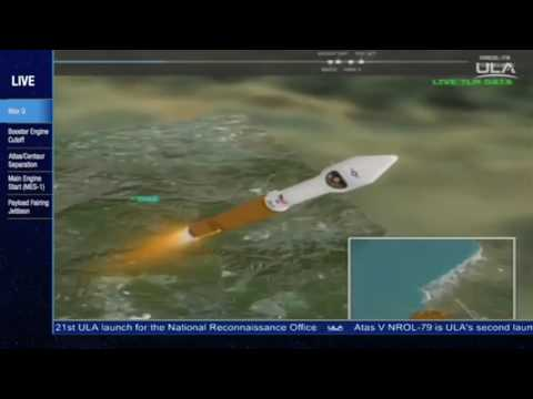 Launch of Atlas V 401 Rocket with Classified Payload (NROL-79)