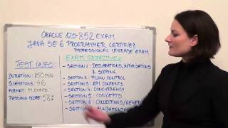 1Z0-852 - Java Standard Test Edition6 Exam Programmer Questions