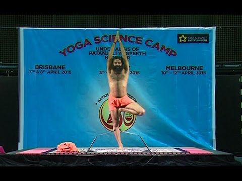 Yoga Science Camp: Swami Ramdev | Sydney, Australia | 04 April 2015