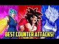 BEST COUNTER ATTACKS IN DOKKAN BATTLE! | Dokkan Battle List