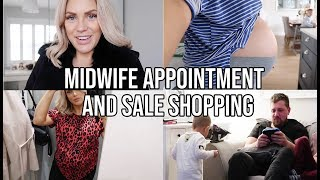 MIDWIFE APPOINTMENT, NURSERY PLANS AND SHOPPING HAUL