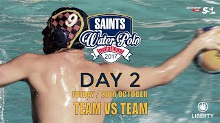 Saints Waterpolo Invitational 20 October 2017 - Day 2