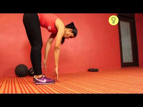 How To Do A INCHWORM EXERCISE