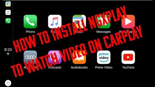 How To Install NGXPlay, The Best Free Alternative To CarBridge To Watch Videos On CarPlay.
