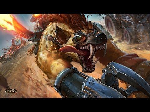 League of Legends - Hyena Warwick - S7 Ranked 30/05/2017