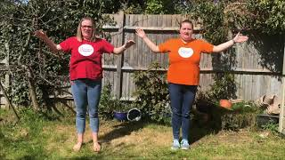 "Kids Church - ""Great Big God"" actions by Hannah & Sarah Welch"