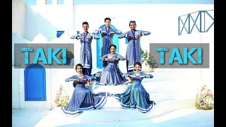 Taki Taki | INDIAN DANCE Fusion | Kathak Rockers | DJ Snake | Kumar Sharma