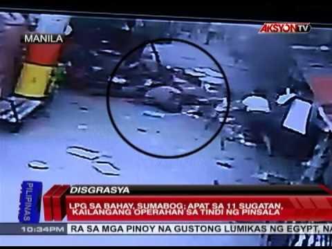 News5E   LPG SUMABOG SA PACO MANILA