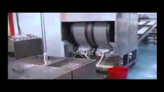 hm 660 twin baked drum pastry sheet making machine