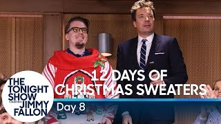 12 Days of Christmas Sweaters 2019:Day 8