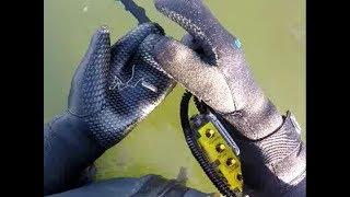TDI Beach Hunter using a 14.8V Battery – Metal Detecting in Salt Water
