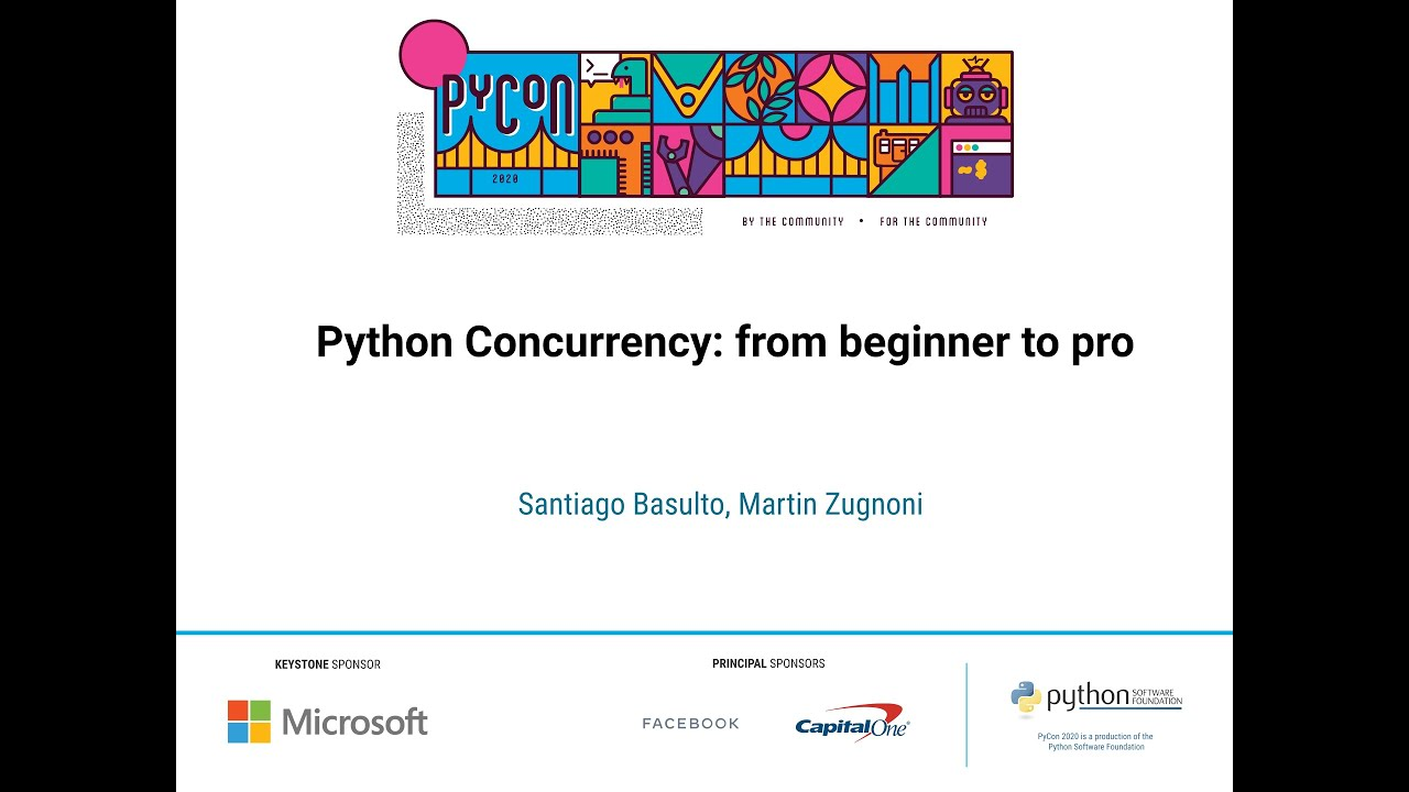Image from Python Concurrency: from beginner to pro