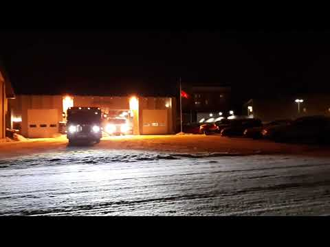 Clearfield FD fire call Jan 2019