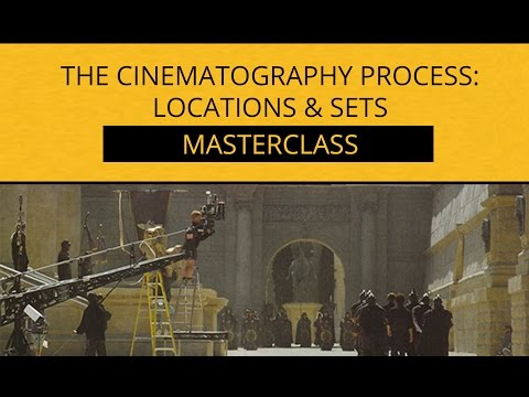 The Cinematography Process || Pre Production - Sets & Locations