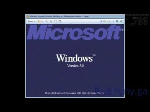 Upgrading from Windows 1.0 to Windows 10 #tech