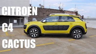 (ENG) Citroen C4 Cactus - Test Drive and Review