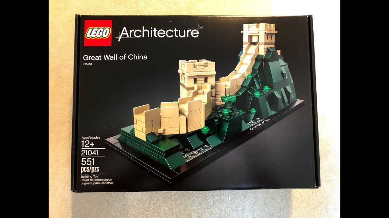 0a5df51fca4 Lego Architecture 21041 Great Wall of China - YouTube