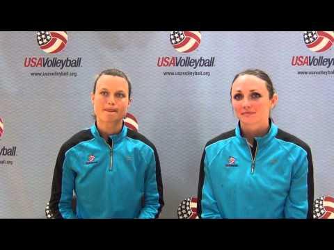 Courtney Thompson and Kristin Hildebrand Interview