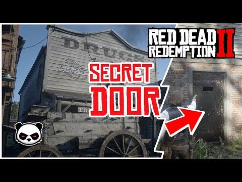 Red Dead Redemption 2 | Secret Illegal Business Valentine Store