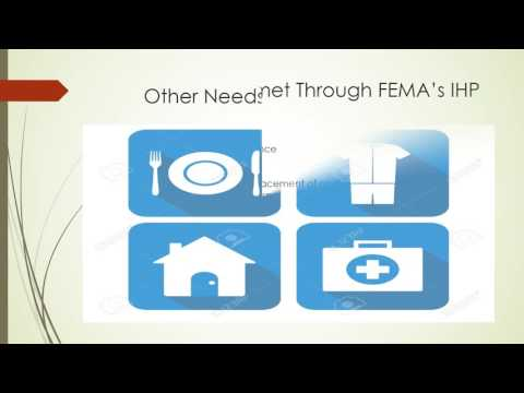 FEMA's individual and household program