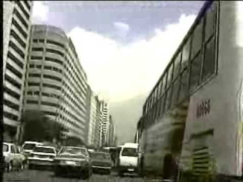 Ayala Avenue, Makati - The Philippines in 1991