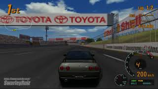 Gran Turismo 3 A-Spec PS2 | Super Speedway | Nissan SKYLINE GT-R V spec II '94
