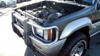 1992 Mitsubishi Strada turbo diesel 4x4 2.5L