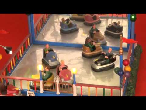Lemax Carnival Crazy Cars Youtube
