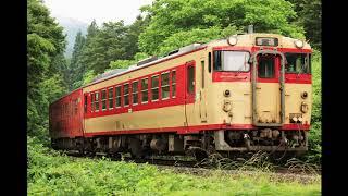【磐越西線】232D~233D キハ47タラコ+キハ48急行色 2019‐6-19