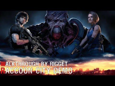 Resident Evil 3 Remake Raccoon City Demo Прохождение