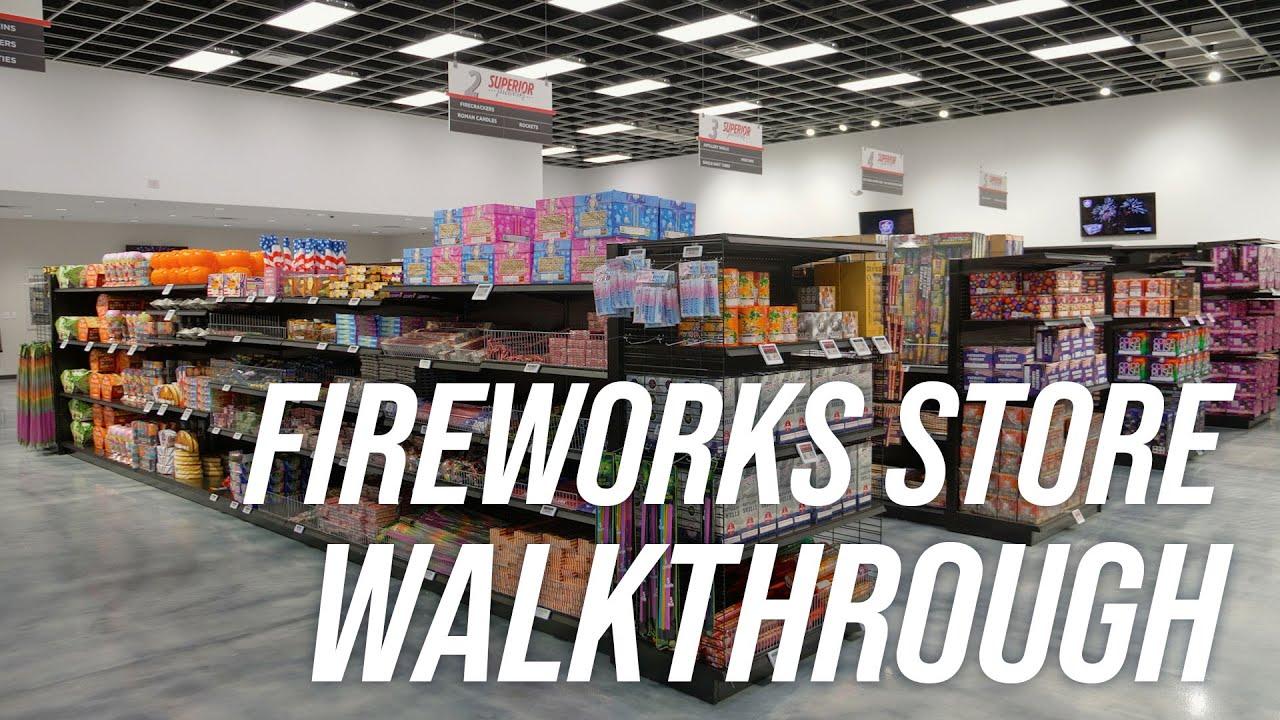 Superior Fireworks Retail Store Walkthrough