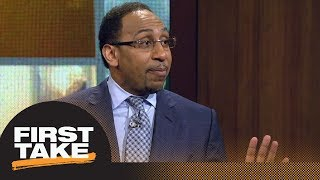 Stephen A. Smith: Kevin Durant vs. Anthony Davis is 'must-see television' | First Take | ESPN
