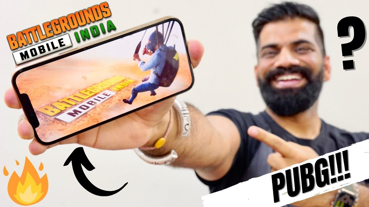 BATTLEGROUNDS MOBILE INDIA Official Launch - PUBG IS BACK!!!🔥🔥🔥