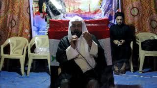 الشيخ صادق العتابي مجلس عزاء الشهيد احمد بهلول جابر
