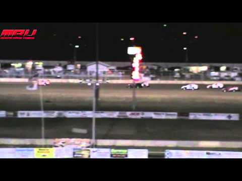 Modified A Feature at Junction Motor Speedway on April 27th