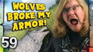 ARK: Survival Evolved Ragnarok - WOLVES BROKE MY ARMOUR