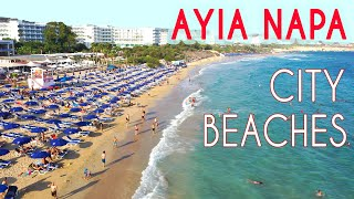 Ayia Napa CITY BEACHES 2020 Drone Review Cyprus